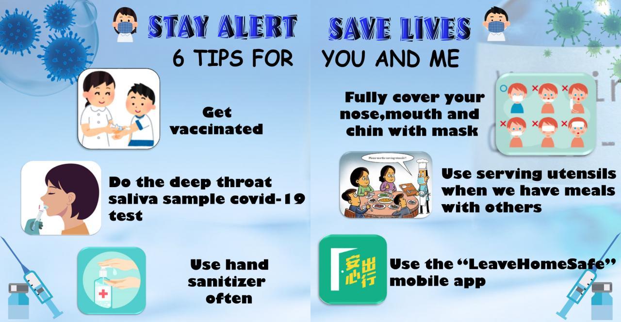 Stay Alert Save Lives